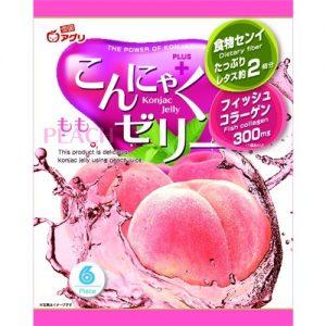 Yukiguni Aguri  Konjac jelly perzik smaak