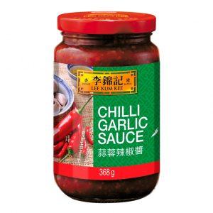 Lee Kum Kee Chili knoflooksaus (李錦記蒜蓉辣椒醬)