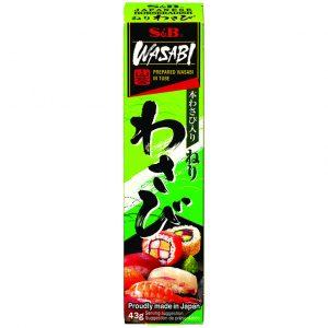 S&B Wasabi pasta (mierikswortel pasta met japanse wasabi)