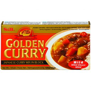 S & B Golden curry sausmix (mild)