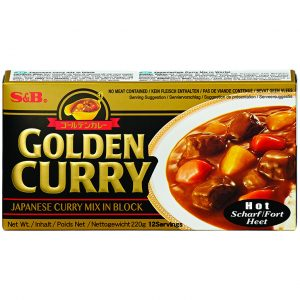 S & B Golden curry sausmix (heet)