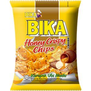 Bika Crackers met kunstmatige honing smaak