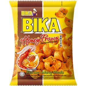 Bika Crackers met honing garnaal smaak