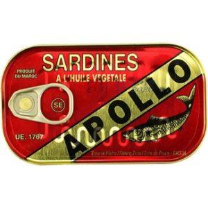 Apollo  Sardines in plantaardige olie