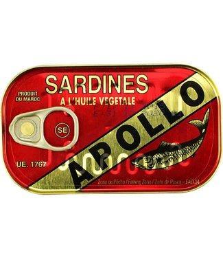 Sardines in plantaardige olie