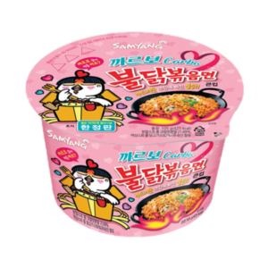 Samyang Bowl noedels pikante kip carbo smaak