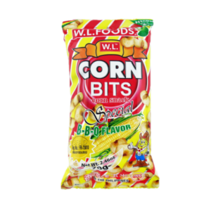 W.L. Foods Cornbit snack - barbecue smaak
