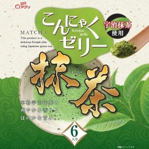 Yukiguni Aguri Konjac jelly matcha smaak