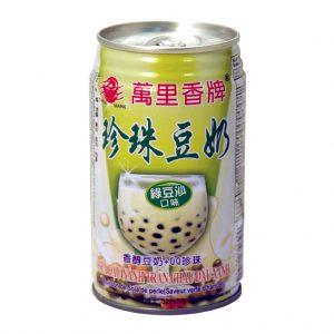 Mong Lee Shang Parel sojabonen drank groene bonen aroma met tapioca ballen (萬里香綠豆沙珍珠豆奶)
