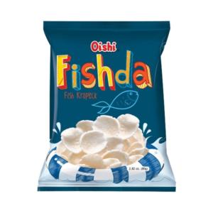 Oishi Fishda (kroepoek met vis smaak)