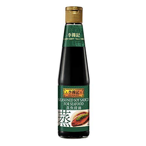 Gekruide sojasaus voor zeevruchten 207ml (李錦記蒸魚豉油)