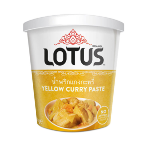 Lotus Gele curry pasta