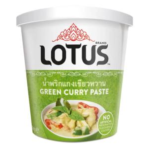 Lotus Groene curry pasta