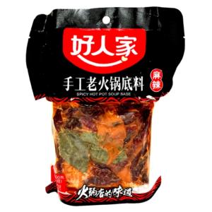 Hao Ren Jia  Spicy hot pot soup base - 好人家手工老火鍋底料
