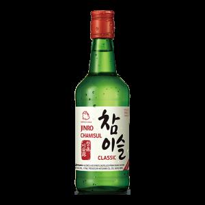 Jinro Soju chamisul 20,1% ALC. (韓國燒酒)