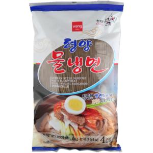 Wang Korea Koude boekweit noedels met gekoelde bouillon (pyeongyang mul naengmyeon)