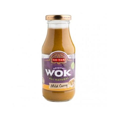 Mild curry woksaus