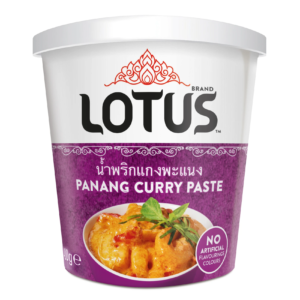 Lotus Panang curry pasta