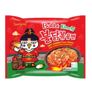 Samyang Roergebakken noedels pikante kip & kimchi smaak