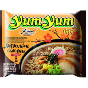 Yum Yum  Instant noodles chicken shoyu (soy sauce) flavour