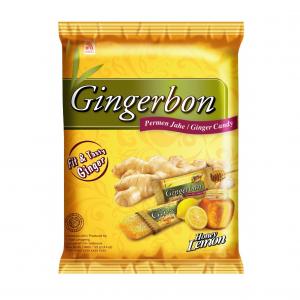 Agel  Gember bonbons met honing en citroensmaak