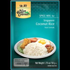 Asian Home Gourmet Kruidenmix voor Singapore kokosrijst (nasi lemak)