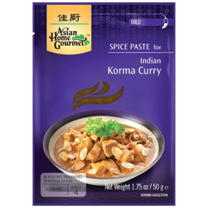 Asian Home Gourmet Kruidenpasta voor Indische korma curry