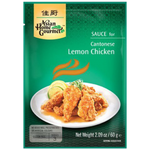 Asian Home Gourmet Citroensaus voor Kantonese lemon chicken (kip in citroensaus)