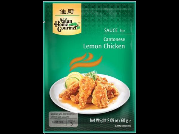 Asian Home Gourmet Citroensaus voor Kantonese lemon chicken (kip in citroensaus)
