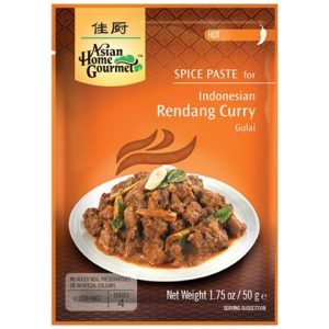Asian Home Gourmet Kruidenpasta voor Indonesisch rendang curry (gulai)
