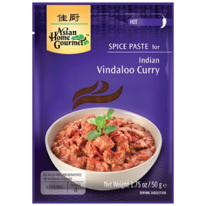 Asian Home Gourmet Kruidenpasta voor Indische vindaloo curry
