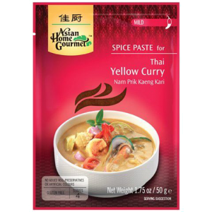 Asian Home Gourmet Kruidenpasta voor Thaise gele curry
