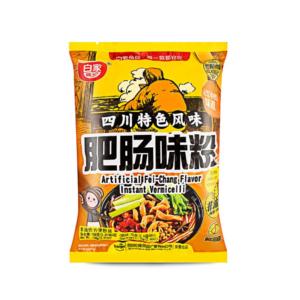 Bai Jia  Sweet potato vermicelli- artificial fei chang flavor ( 白家陈记方便粉丝 - 辣味肥肠味 袋装)
