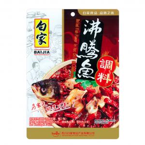 Baijia Saus met hete chili olie smaak voor vis