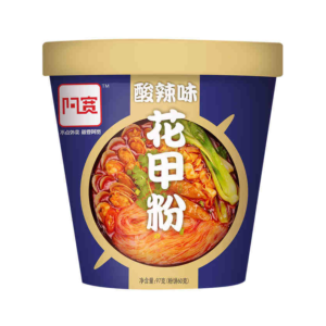 Bai Jia Bowl vermicelli clam smaak (阿宽 花甲粉丝)
