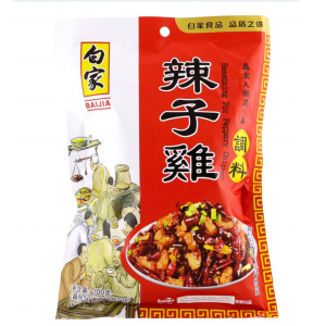 Baijia Saus voor chili peper kip (白家辣子雞調料)