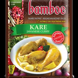 Bamboe Kant-en-klare kruiden voor Javanese curry (kare)