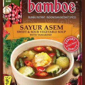 Bamboe Kant-en-klare kruiden voor zoet & zure groentensoep met tamarind (sayur asem)