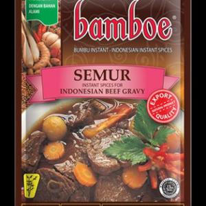 Bamboe Kant-en-klare kruiden voor Indonesische gestoofde rund/kip (semur)