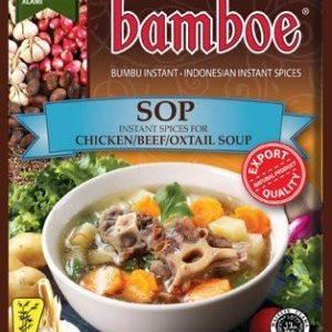 Bamboe Kant-en-klare kruiden voor kip/rund/ossenstaart soep (sop)