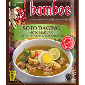 Bamboe Kant-en-klare kruiden voor rundsvlees soto soep (soto madura)