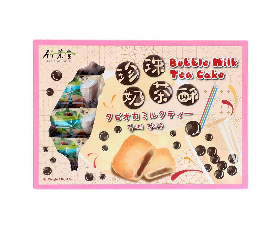 Bamboo House Bubble milk tea pineapple cake (竹葉堂 珍珠奶茶酥)