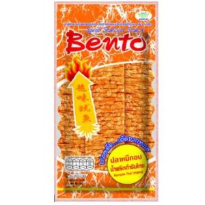 Bento  Squid seafood snack chilli namprik paste