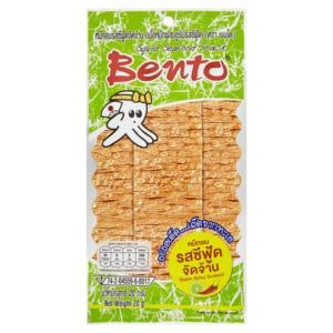 Bento  Squid snack super spicy seafood flavour