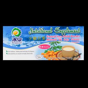 Bing Quan Natural soya drink powder (冰泉 速溶豆浆 少糖型)
