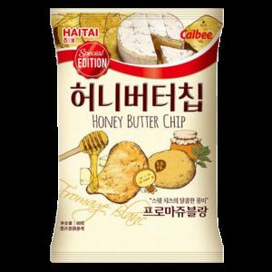 Calbee  Potato chips honey butter cheese