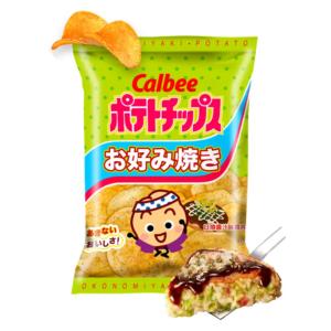 Calbee  Potato chips okonomiyaki flavour