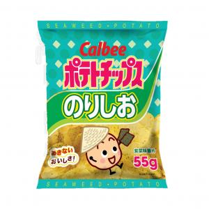 Calbee Aardappel chips zeewier smaak