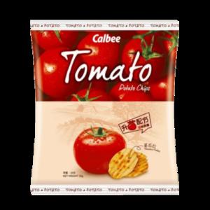 Calbee Aardappel chips met tomaten smaak