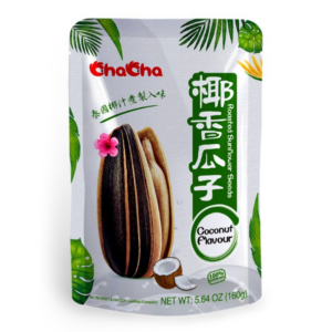 Cha Cha Roasted sunflower seeds coconut flavour